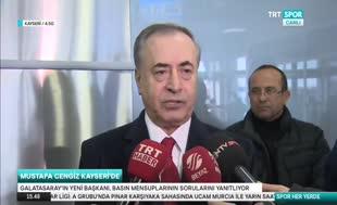 Mustafa Cengiz'den Bafetimbi Gomis açıklaması