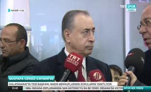 "Mustafa Cengiz: ""Fatih Terim istifa teklifinde bulundu"""