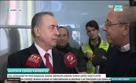 Mustafa Cengiz o anları anlattı