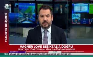 Alanya'da Vagner Love görüşmesi