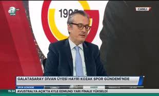 Hayri Kozak'tan Dursun Özbek yorumu