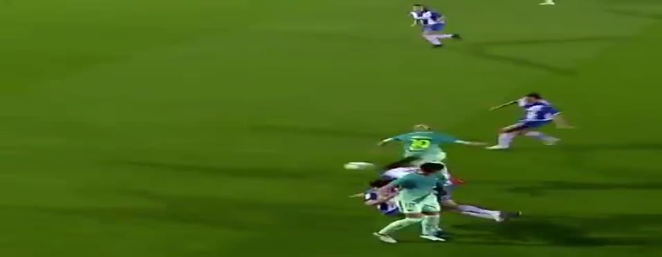 Bu da dişi Messi!