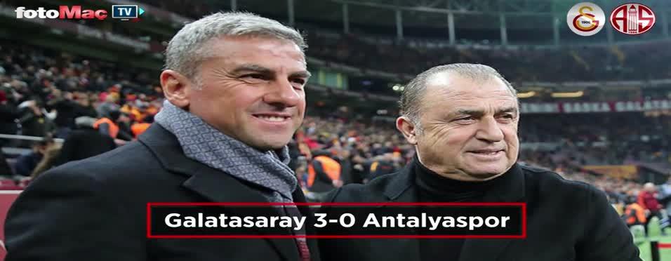 Galatasaray - Antalyaspor maçı özeti