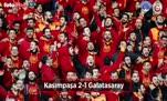 Kasımpaşa - Galatasaray maçı özeti