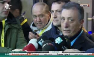 """Beşiktaşlı yöneticilerden Fenerbahçe açıklaması: """"Takdir-i ilahi.."""""""