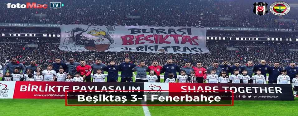 Beşiktaş - Fenerbahçe maçı özeti