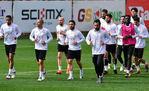 Galatasaray Konyaspor hazırlıklarını sürdürdü