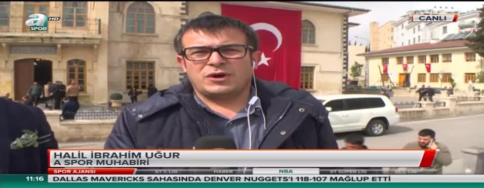 TFF Mehmetçik'e destek için Kilis'te