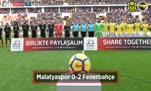 Malatyaspor - Fenerbahçe maçı özeti