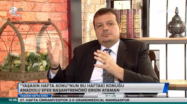 Ergin Ataman: Galatasaray yönetimine kırgınım