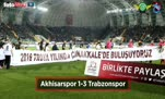 Akhisarspor -Trabzonspor maçı özeti