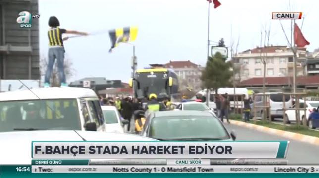 Fenerbahçe kafilesi yola çıktı