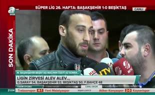 Cenk Tosun'dan Beşiktaş yorumu
