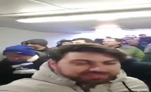Everton taraftarından Cenk Tosun tezahüratı