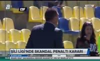 Şili Ligi'nde skandal penaltı kararı!