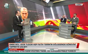 Emre Bol'dan Fatih Terim'e 'Kadıköy'de kupa kaldırma' sorusu