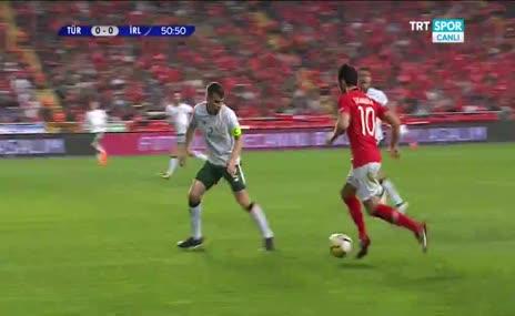 GOL: Türkiye 1-0 İrlanda (52' Mehmet Topal)