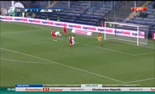 Karadağ 2-2 Türkiye (Özet)