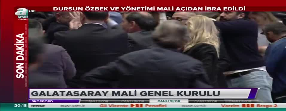 Dursun Özbek ve yönetimi ibra edildi