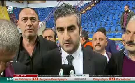 Trabzonspor Başkanı Ahmet Ağaoğlu A Spor'a konuştu!