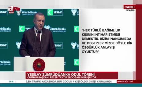 Cumhurbaşkanı Erdoğan'dan flaş derbi açıklaması