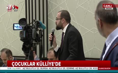 23 Nisan dolayısıyla Cumhurbaşkanı Erdoğan koltuğunu Fatih Mintaş'a devretti