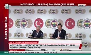 Şekip Mosturoğlu: ''Beşiktaş sahadan çekilmiştir''