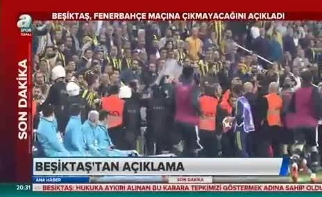 Beşiktaş, Fenerbahçe maçına çıkmayacağına açıkladı!