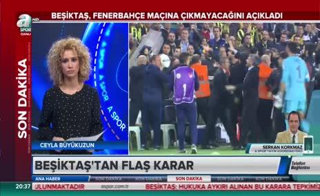 """""""Beşiktaş umarım geri adım atar"""""""