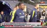 Fenerbahçeli futbolcular boş tribünleri alkışladı