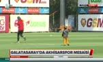 Galatasaray idmanında sürpriz ziyaretçi