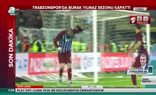 Trabzonspor'da Burak Yılmaz sezonu kapattı
