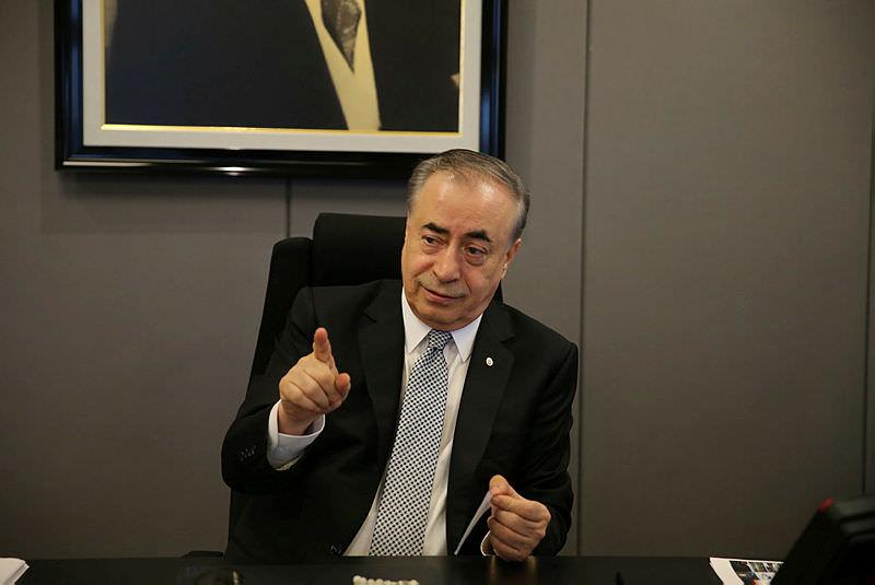 Galatasaray'da başkan Mustafa Cengiz listesini tanıttı