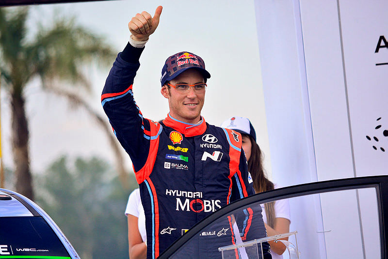 Portekiz'de zafer Thierry Neuville'in