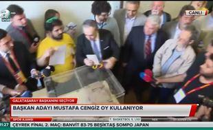 Mustafa Cengiz oyunu kullandı
