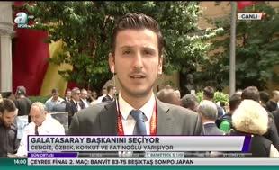 """""""Mustafa Cengiz önde götürüyor"""""""