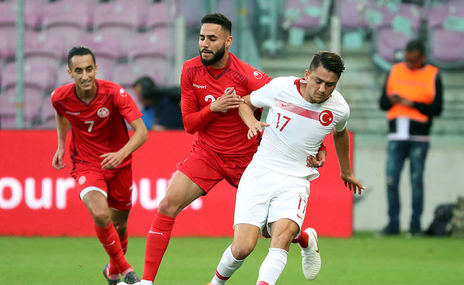 Tunus 2 - 2 Türkiye (ÖZET)