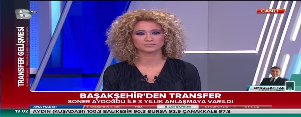 Soner Aydoğdu Medipol Başakşehir'de