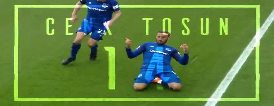 Everton'dan Cenk Tosun'a özel video