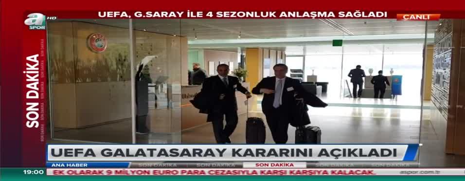 UEFA, Galatasaray kararını açıkladı! İşte detaylar... .