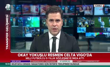 Okay Yokuşlu Celta Vigo'da