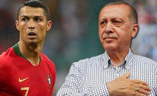 Cumhurbaşkanı Erdoğan: En iyisi Ronaldo