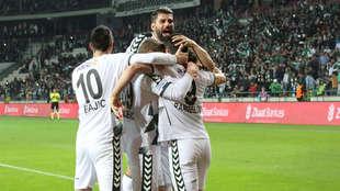 Atiker Konyaspor'un Sivasspor maçlarının özetleri