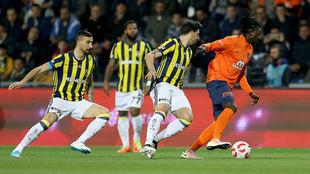 M.Başakşehir-Fenerbahçe yarı final 1. maçı özeti