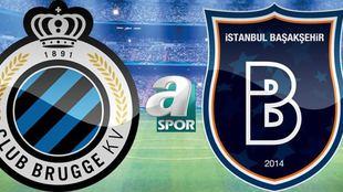 Club Brugge - Başakşehir (Goller)